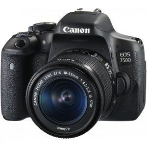 دوربین کانن Canon EOS 750D Lens Kit 18-55 IS STM