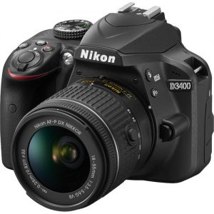 دوربین دیجیتال نیکون D3400 lens 18-55