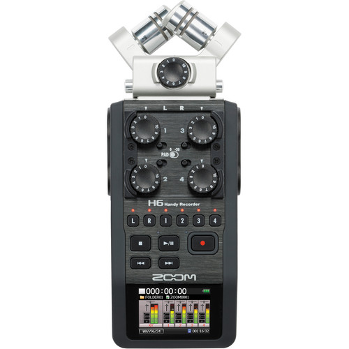 رکوردر حرفه ای صدا Zoom H6 Handy Recorder