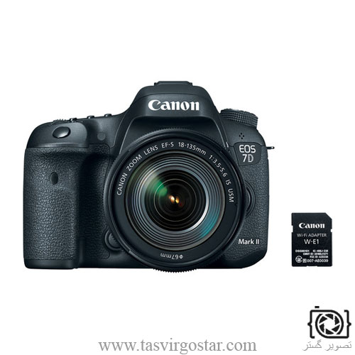 خرید دوربین عکاسی 7D ii lens 18-135 usm