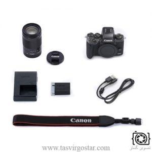 خرید دوربین عکاسی کانن بدون آینه EOS M5 lens 18-150mm STM