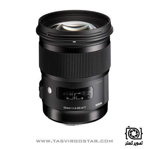 لنز Sigma 50mm f/1.4 Art Canon