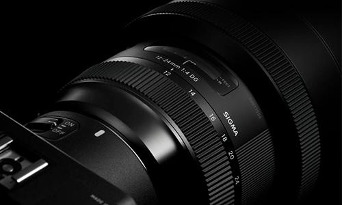 لنز سیگما ارت Sigma 12-24mm f/4 DG HSM Art Canon Mount