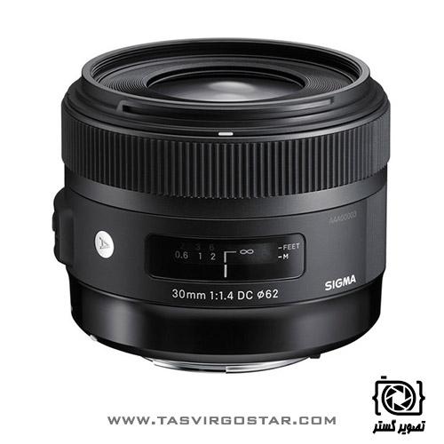 لنز سیگما Sigma 30mm f/1.4 DC HSM Art Nikon Mount