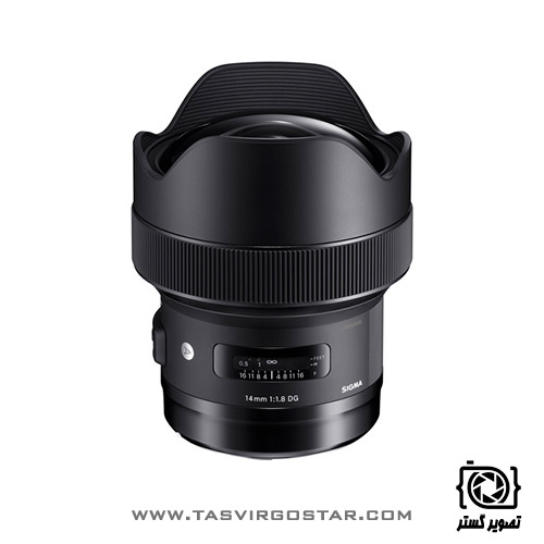 لنز سیگما Sigma 14mm f/1.8 DG HSM Art Nikon Mount