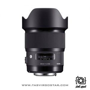 لنز سیگما Sigma 20mm f/1.4 Art Nikon Mount