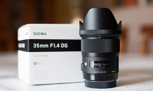لنز سیگما Sigma 35mm f/1.4 DG HSM Art Canon Mount