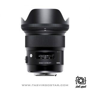 لنز سیگما Sigma 24mm f/1.4 DG HSM Art Canon Mount