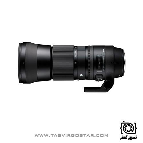 لنز سیگما Sigma 150-600mm f/5.0-6.3 DG OS HSM Contemporary Canon Mount