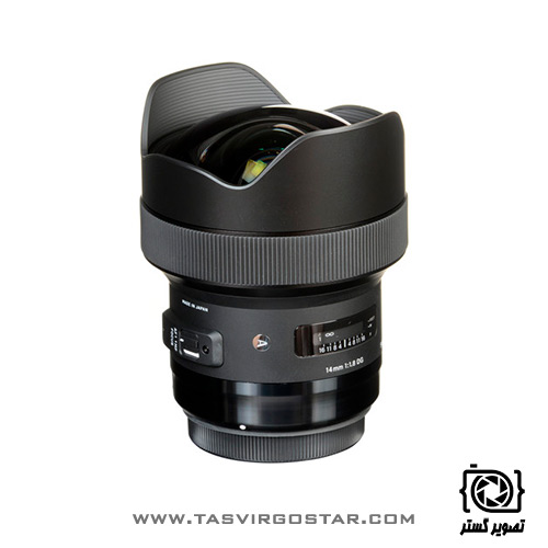 لنز سیگما Sigma 14mm f/1.8 DG HSM Art Canon Mount