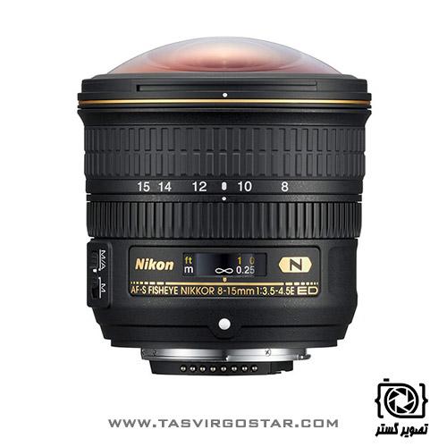 لنز نیکون Nikon AF-S Fisheye NIKKOR 8-15mm f/3.5-4.5E ED