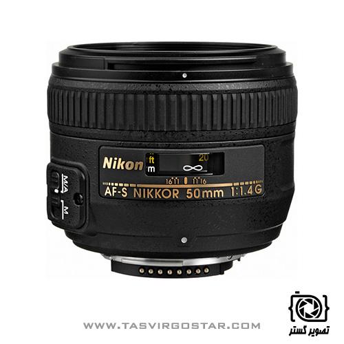 لنز Nikon 50mm f/1.4G