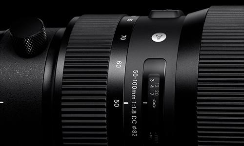 لنز سیگما Sigma 50-100mm f/1.8 DC HSM Art Canon Mount