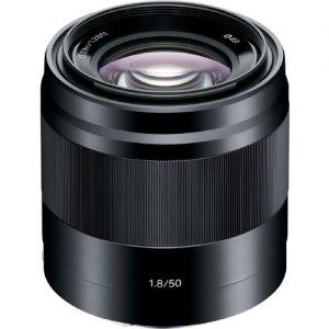 لنز سونی E 50mm f/1.8 OSS