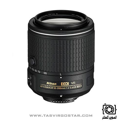 لنز نیکون Nikon AF-S DX 55-200mm f/4-5.6G ED VR II