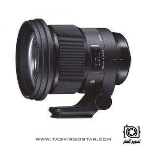 لنز سیگما Sigma 105mm f/1.4 DG HSM Art Canon