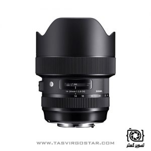لنز سیگما Sigma 14-24mm f/2.8 DG HSM Art Mount Canon