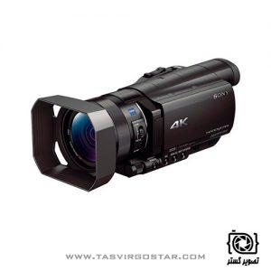 دوربین هندی کم سونی Sony FDR-AX100E 4K Ultra HD Camcorder