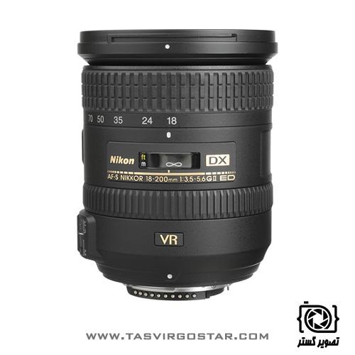 لنز نیکون Nikon AF-S DX 18-200mm f/3.5-5.6G ED VR II