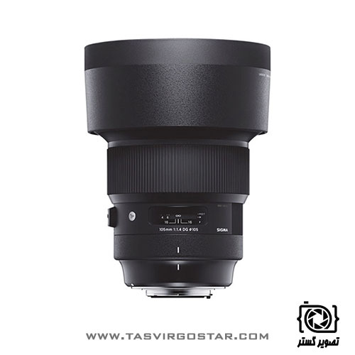 لنز سیگما Sigma 105mm f/1.4 DG HSM Art Nikon