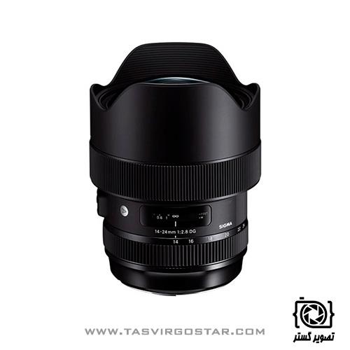 لنز سیگما Sigma 14-24mm f/2.8 DG HSM Art - Nikon F