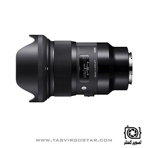 لنز سیگما Sigma 24mm f/1.4 DG HSM Art Sony E