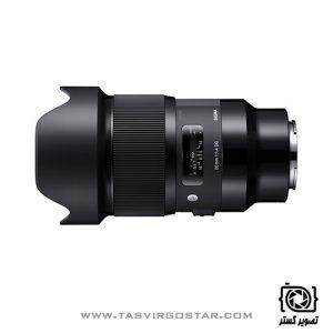 لنز سیگما 20mm f/1.4 Art Sony E