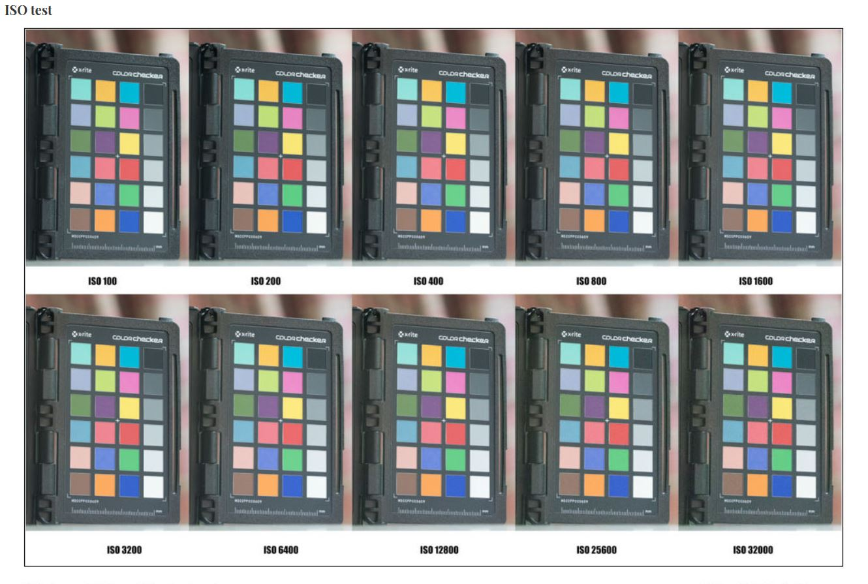 حساسیت های مختلف دوربین کانن 5D Mark IV