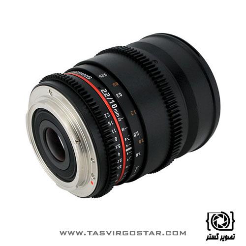 لنز سامیانگ Samyang 16mm T2.2 Cine Canon EF