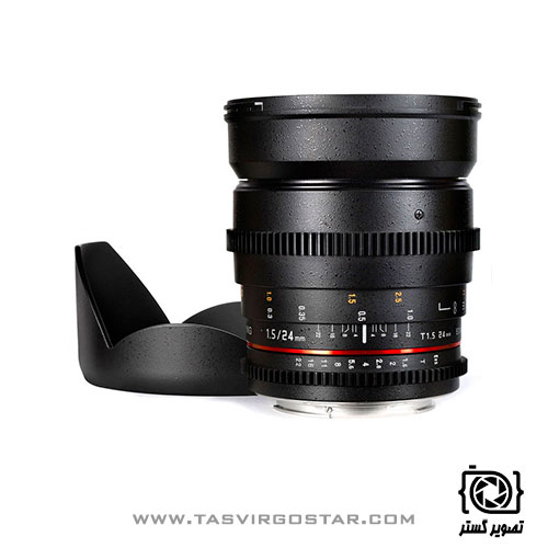 لنز سامیانگ Samyang 24mm T1.5 Cine Sony
