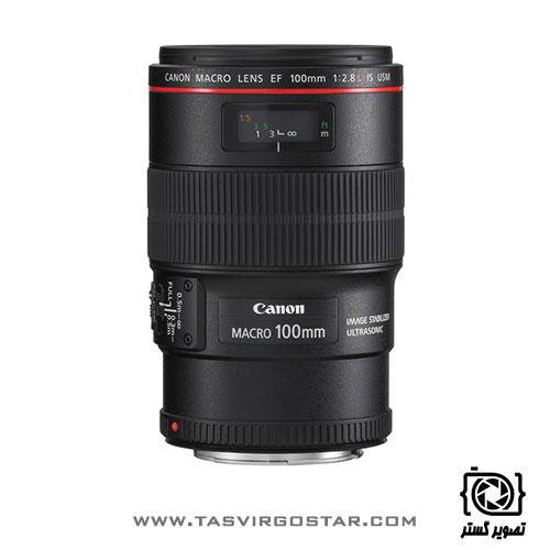لنز کانن Canon EF 100mm f/2.8L Macro IS USM