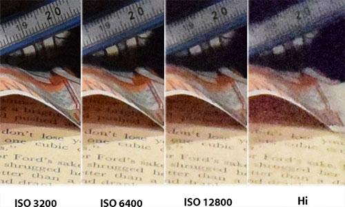 ایزو های مختلف دوربین D5300