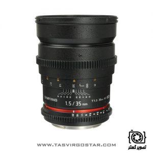 لنز سامیانگ Samyang 35mm T1.5 Cine Sony E