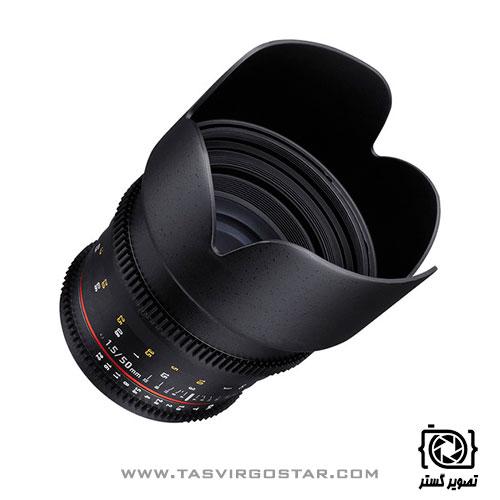 لنز سامیانگ Samyang 50mm T1.5 VDSLR AS UMC Sony