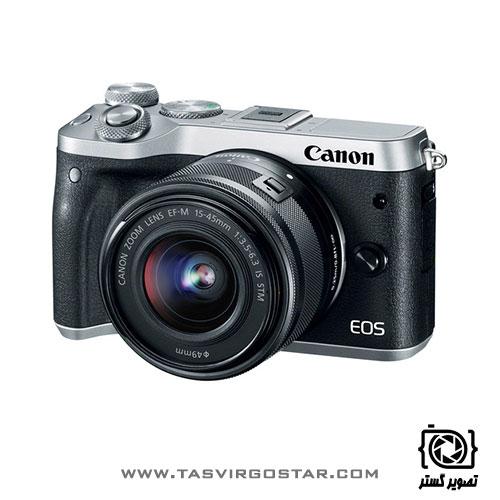 دوربین کانن M6 با لنز 15-45