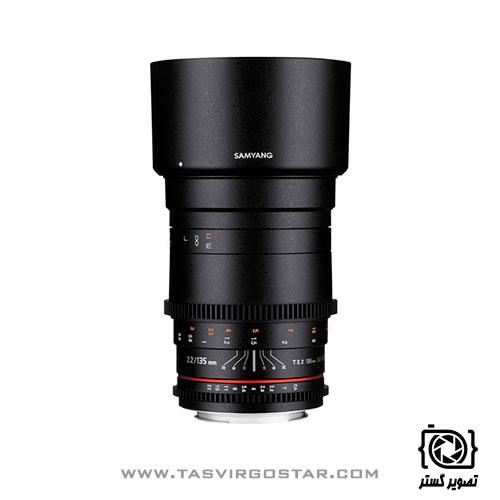 لنز سامیانگ Samyang 135mm T2.2 AS UMC VDSLR II Sony