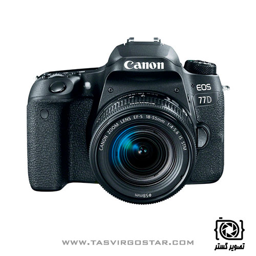 دوربین کانن Canon EOS 77D Lens Kit 18-55mm