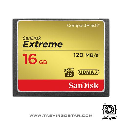 کارت حافظه SanDisk 16GB Extreme CF