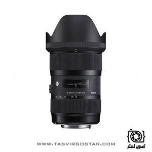 لنز سیگما Sigma 18-35mm f/1.8 DC HSM Art Nikon Mount