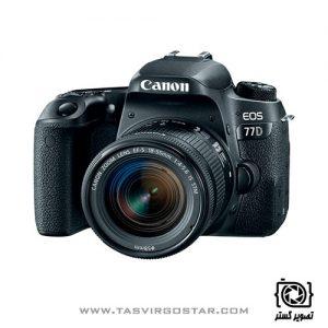 دوربین کانن 77D با لنز 18-55