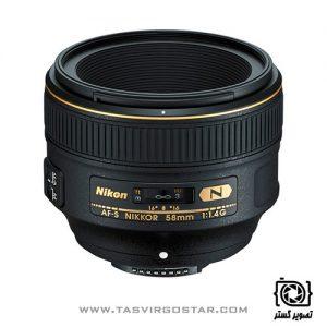 لنز نیکون 58mm f/1.4G
