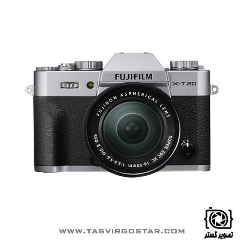 دوربین فوجی فیلم Fujifilm X-T20 Lens Kit 16-50mm