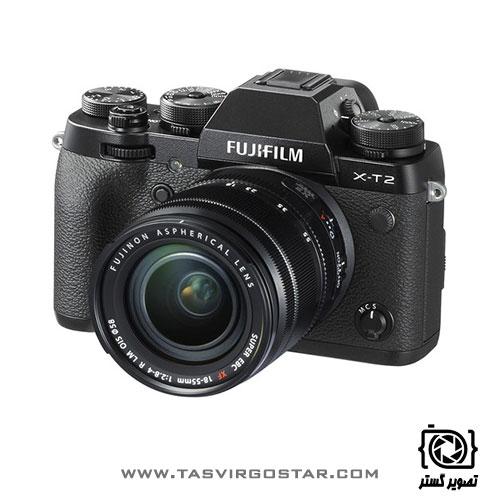دوربین فوجی فیلم X-T2 با لنز 18-55