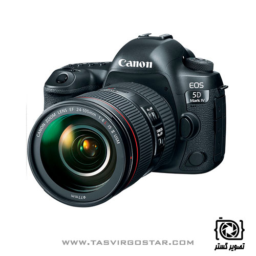 دوربین کانن 5D Mark IV با لنز 24-105