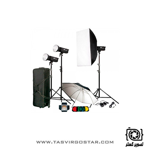 کیت فلاش S&S 300J Studio flash Kit TC-300