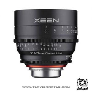لنز سینمایی زین Xeen 35mm T1.5 PL Mount