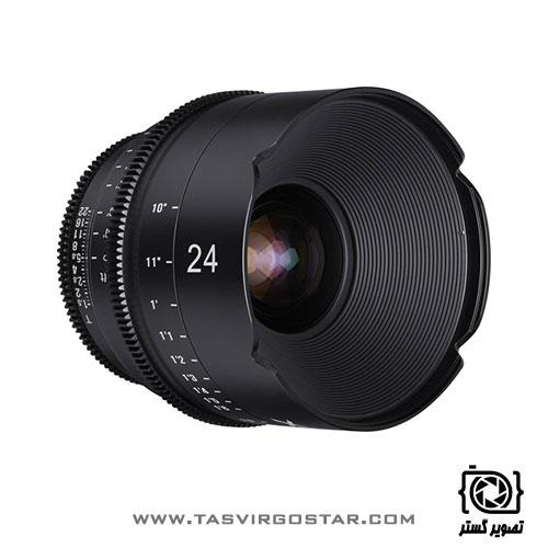 لنز سینمایی زین Xeen 24mm T1.5 Canon EF Mount