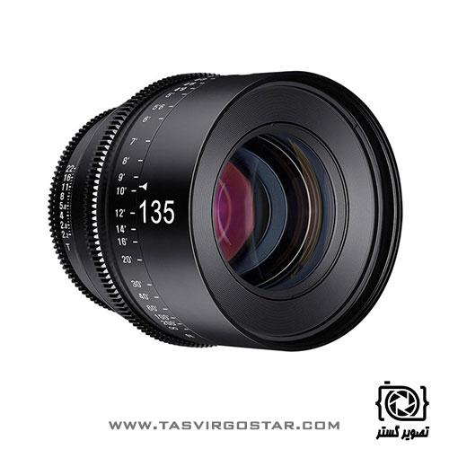 لنز سینمایی زین Xeen 135mm T2.2 Canon EF Mount