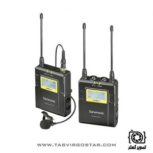 میکروفون یقه ای بیسیم Saramonic UWMIC9 RX9 + TX9