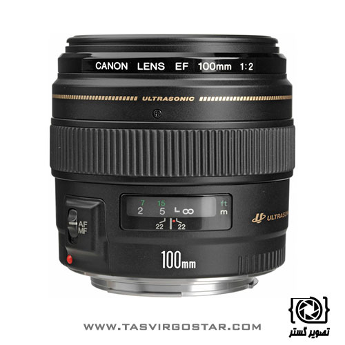 لنز کانن Canon EF 100mm f/2 USM
